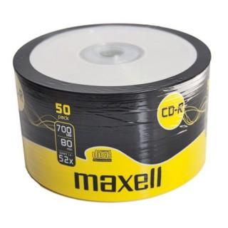 CD-R диск в опак. целофан 50бр.Maxell 700MB 52X
