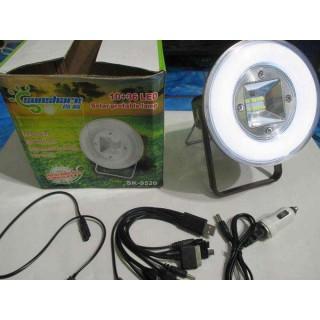 Мултифункционална соларна LED лампа преносима, със стойка