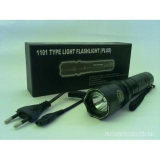 Полицейски LED фенер с електрошок