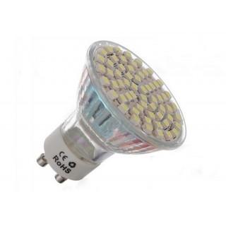 Енергоспестяваща светодиодна LED крушка с 60 диода