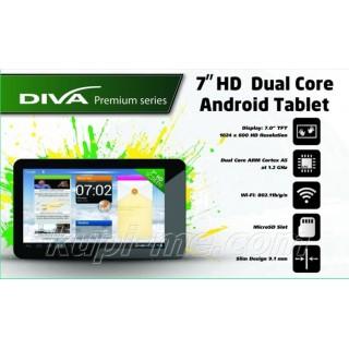 Двуядрен HD таблет с висока резолюция Diva Premium Dual Core
