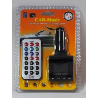MP3 FM трансмитер за кола, CD, DVD