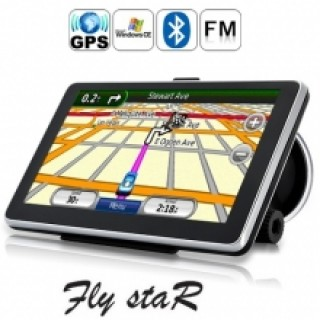 GPS навигация Fly StaR E9BT - 5''+ BT + 4GB