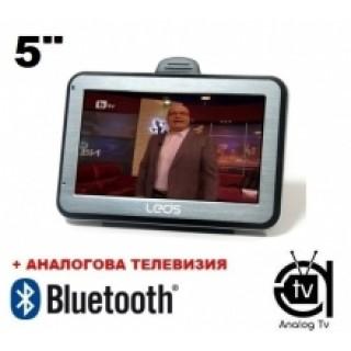 GPS навигация LEOS А504TV - 5 + BLT + TV + 8GB