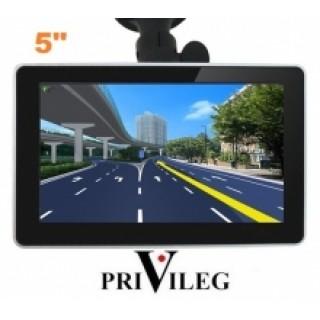 GPS навигация PRIVILEG FM50M - 5, 128RAM, 4GB - НОВ МОДЕЛ