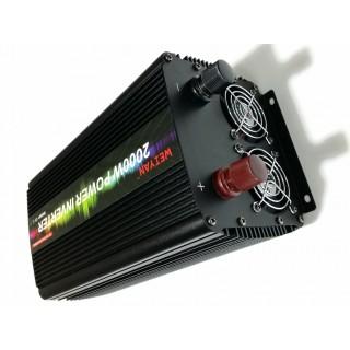 Инвертор Weiyan преобразувател от 220V на 12V на 2000/3000W, Invertor