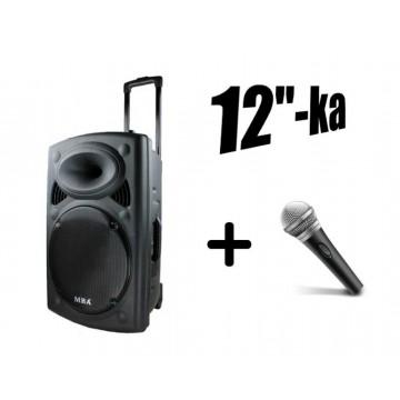 Най-мощната караоке система/колона, микрофон, Bluetooth, радио, дисплей, акумулатор,12 бас