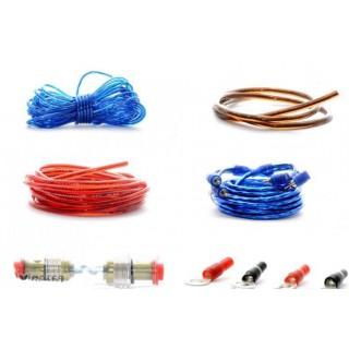 Нови, кабели за усилвател на кола