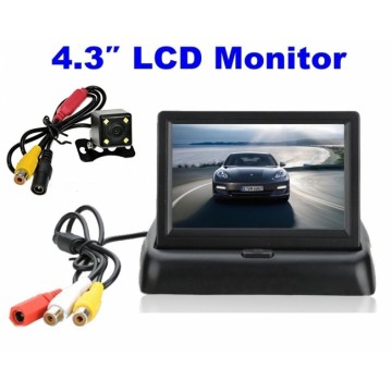 Монитор + Камера водоустойчива за задно виждане
