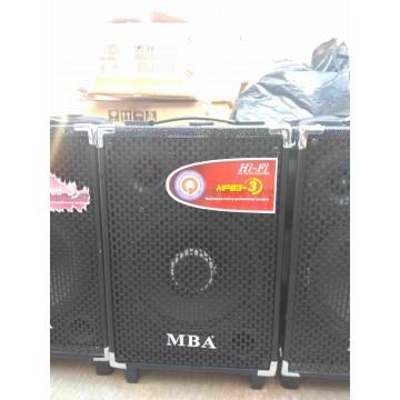 Портативна караоке колона Q8 MBA С 1 микрофон и цветна музика