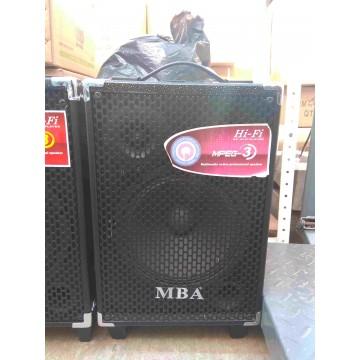 Портативна караоке тонколона Q8 MBA С 2 микрофона