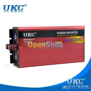 Висококачeствен инвертор за автомобил UKC 12V-220V, 4000W