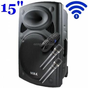Караоке Тонколона MBA F15 с Bluetooth и микрофон